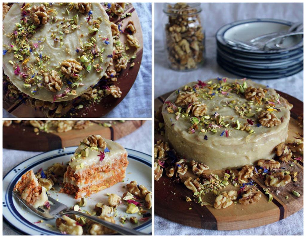 Rawsome Carrot Cake Mit Cashew Frosting Veganblatt