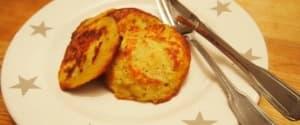 Leckere Kartoffelpuffer