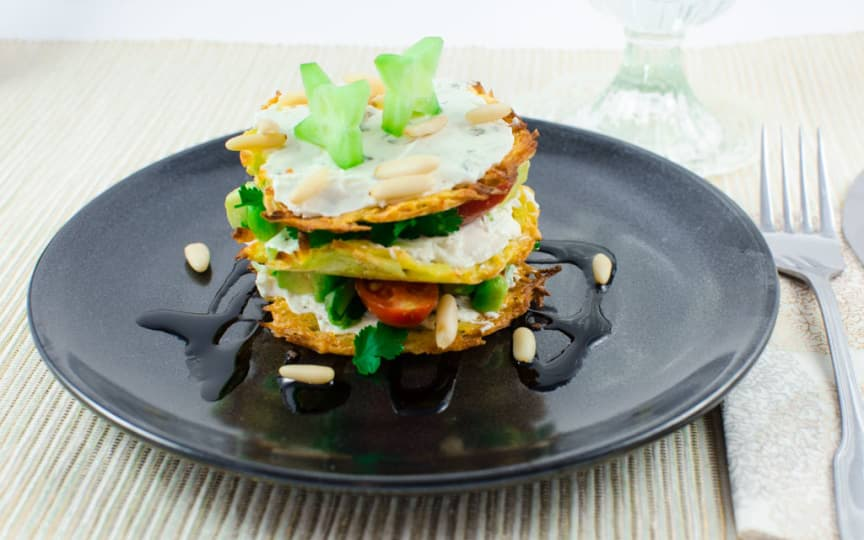 Vegane Kartoffel-Taler