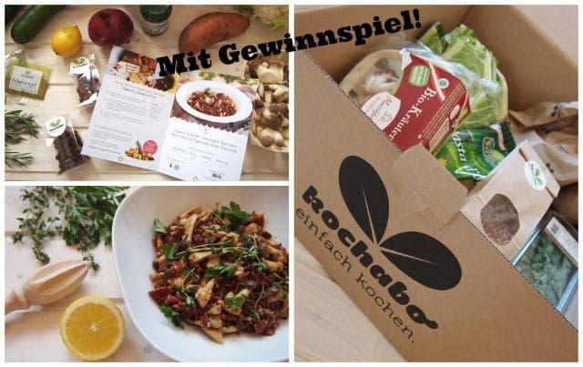 Vegane Kochabo Box zu gewinnen