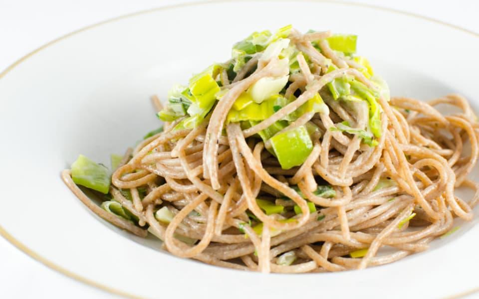 Lauch Spaghetti