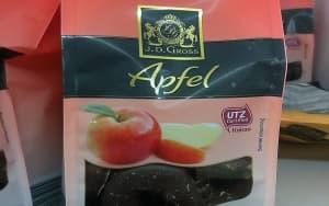 Schokolade Apfel