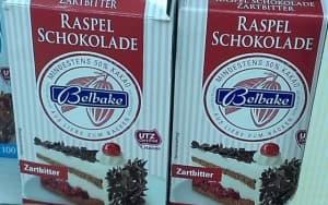 Raspel Schokolade