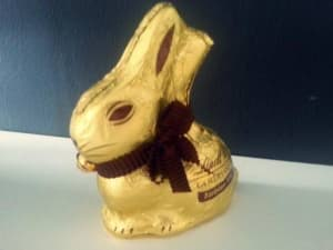 Lindt Goldhase vegan