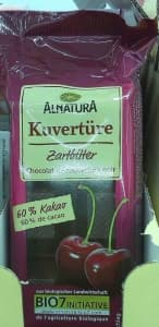 Alnatura Zartbitter-Kuvertüre