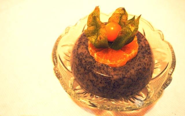 Mohn Mandarinen Dessert