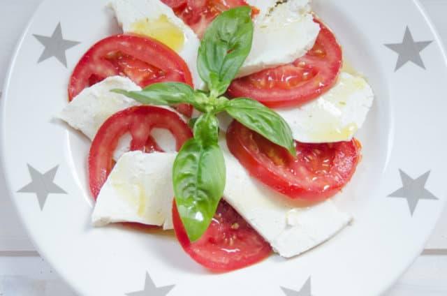 Aquafaba Mozzarella
