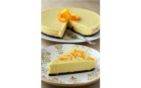 Orangen-Schoko Cheesecake