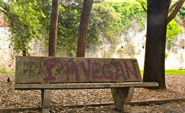 Ich bin vegan Bank