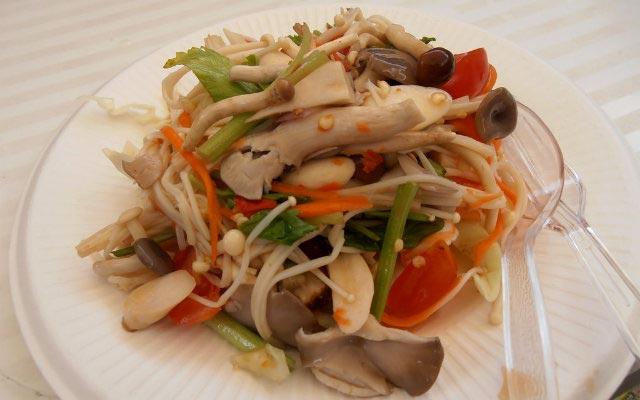 Pilz-Salat