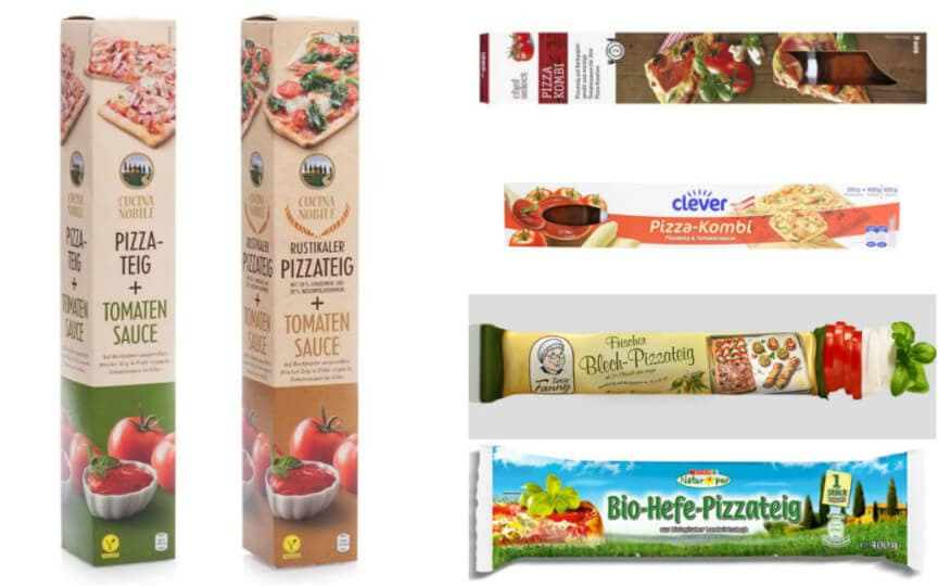 vegane Pizzateige