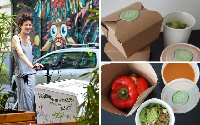Bioveganes Essen von Rita bringts