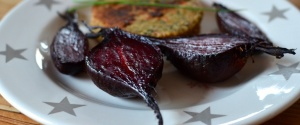 Rote Beete aus dem Ofen