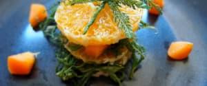 Fruchtiger Schafgarben-Salat