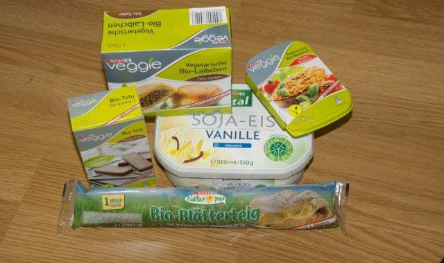 Vegane Spar Produkte