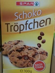 Schoko-Tröpfchen