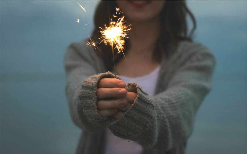 friedlich ins neue Jahr