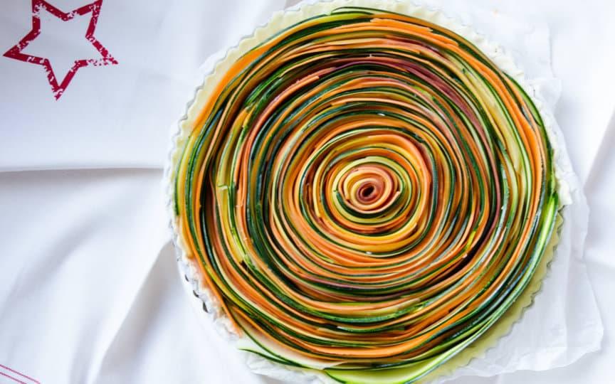 Veggie Spiraltarte