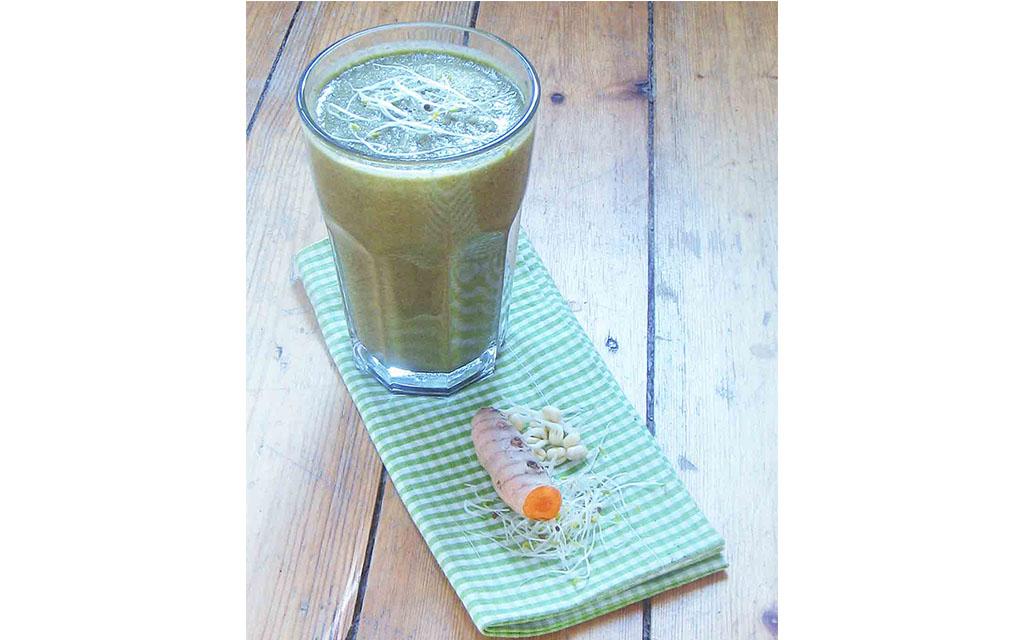 energie boost smoothie grüner smoothie — rezepte suchen