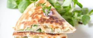 Schnelle Gemüse-Tortillas