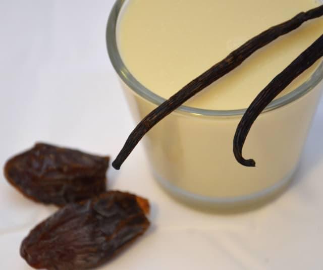 Sojamilch mit Vanille-Note