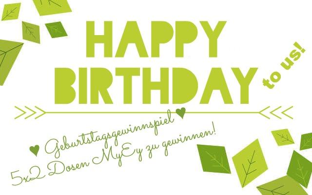 Veganblatt Geburtstag