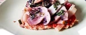 Schnelle Hirse-Pizza