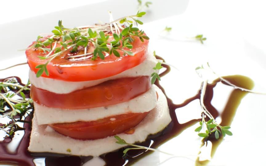 Veganer Mozarrella aus Cashews