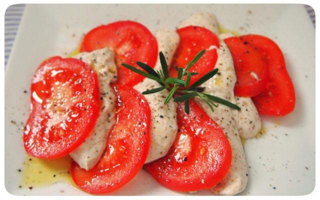 Veganer Mozarella
