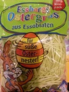 Veganes essbares Ostergras