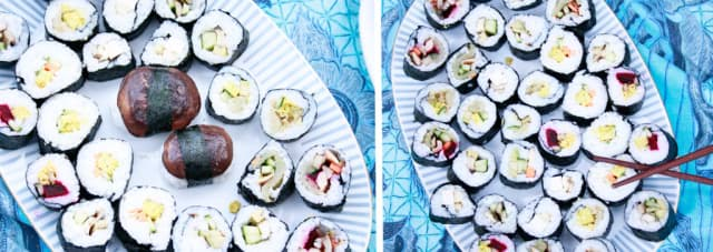 veganes-sushi-allerlei