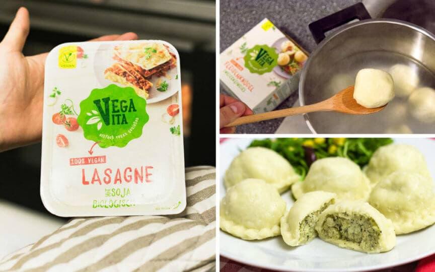 Vegavita vegane Tiefkühlprodukte