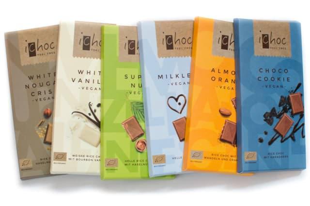 iChoc vegane Schokolade