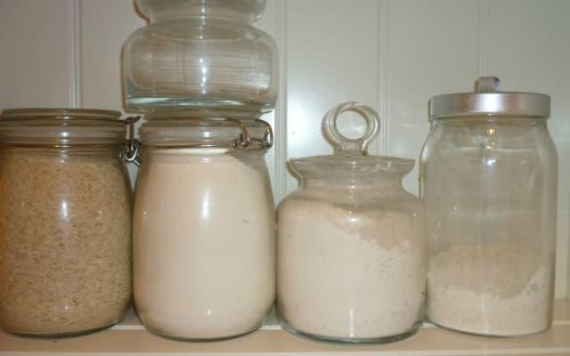 weiße Lebensmittel