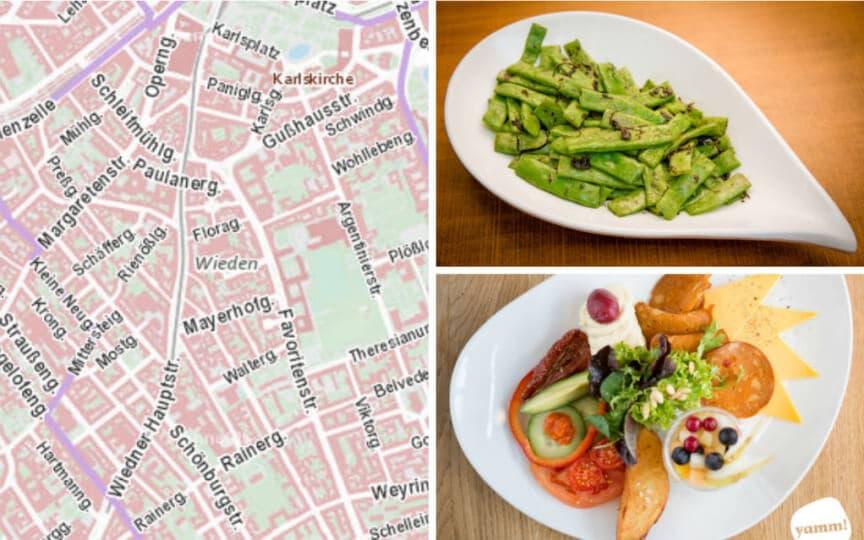 lecker vegan essen im 4. Bezirk
