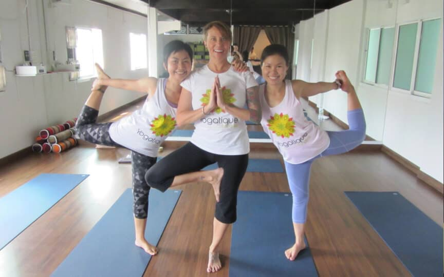 yoga in bangkok