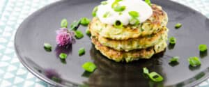 Schnelle, leckere Zucchini Fritters